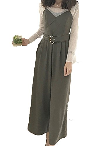 Heaven Days (Haven Days) overalls all-in-one solid color wide leg pants Maternity Ladies 1707K0927