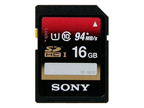 SONY SDHCカード 16GB Class10 UHS-I対応 SF-16UX [国内正規品]