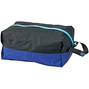 Speedo(スピード) 防水プールバッグ Mサイズ SD92B21 ブラック×ブルー
