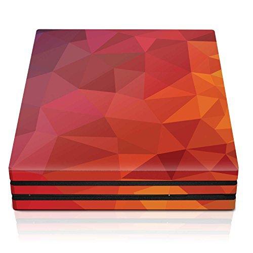 Controller Gear PS4 Pro Console Skin - Blood Orange Poly Horizontal - PlayStation 4 [並行輸入品]
