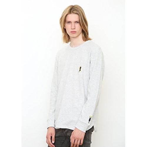 (グラニフ)graniph ワッフル 長袖Tシャツ / キーホール ビューティフル シャドー ( ヘザーグレー ) S