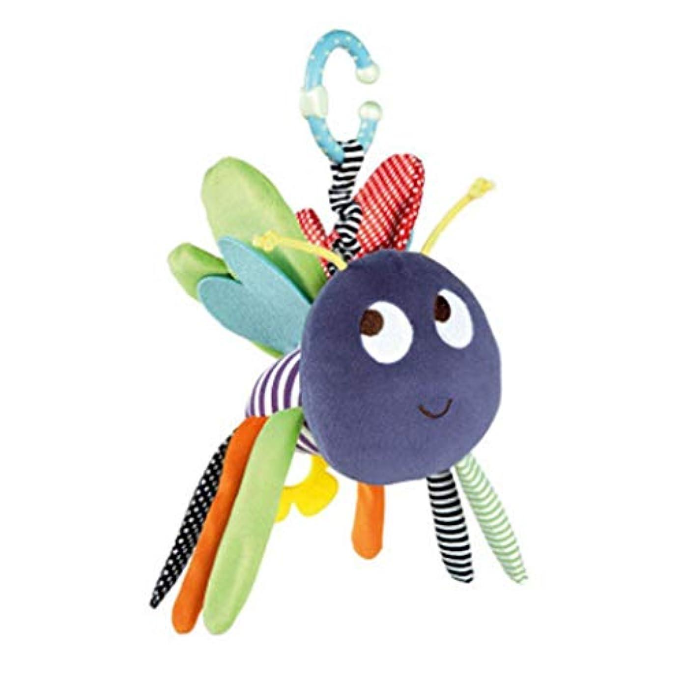 噴火類推ふさわしい1st market 赤ちゃんのおもちゃぶら下げ動物蜂形状ガラガラおもちゃベビーカーカーシートベビーベッドぬいぐるみクリエイティブと便利