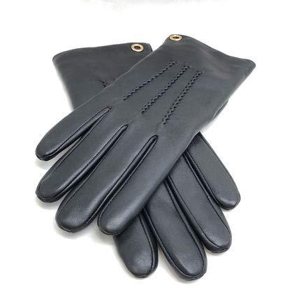 コーチ 手袋 COACH コーチ アウトレット クラシック レザー グローブ/手袋 F32700 BLK [並行輸入品] 7.5