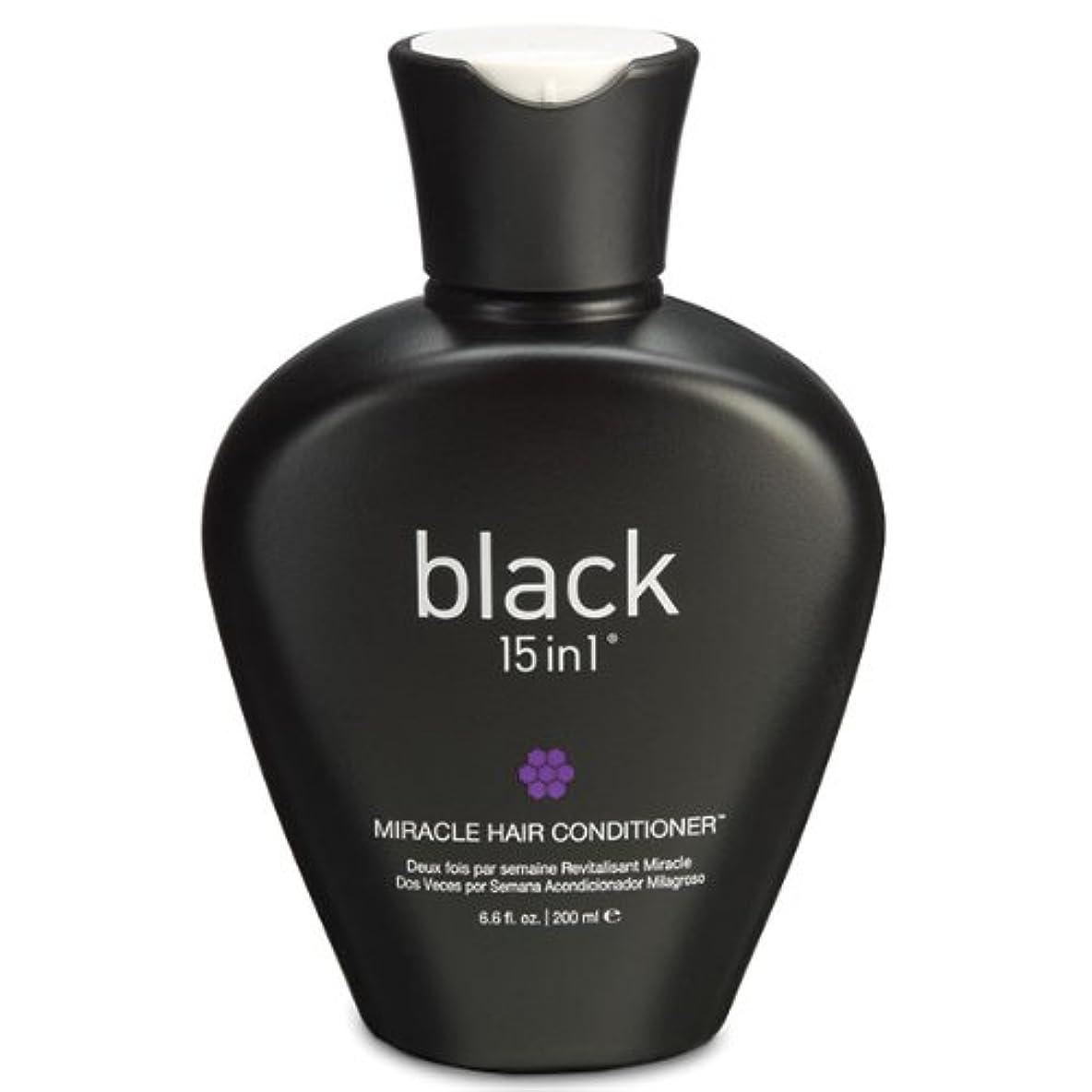 ロードされたうがいピックBlack 15in1 Miracle Hair Conditioner, 6.6 Ounce by black 15in1