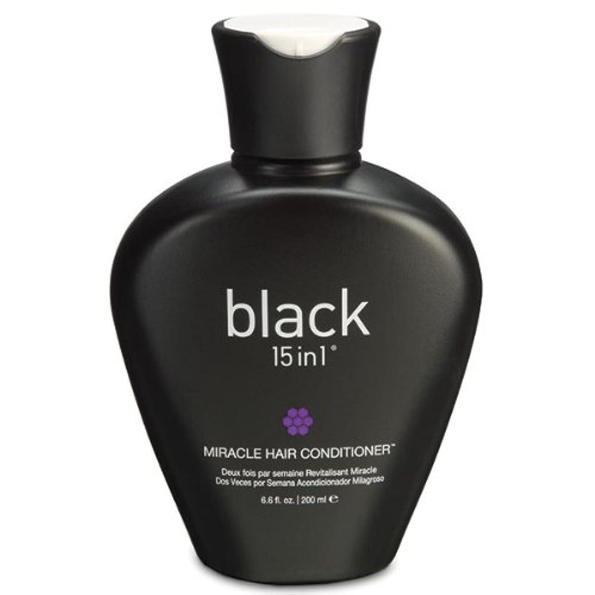 照らす介入するイースターBlack 15in1 Miracle Hair Conditioner, 6.6 Ounce by black 15in1
