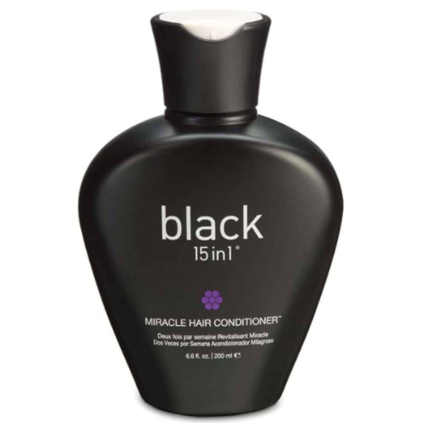 ニンニクテロ政治家のBlack 15in1 Miracle Hair Conditioner, 6.6 Ounce by black 15in1