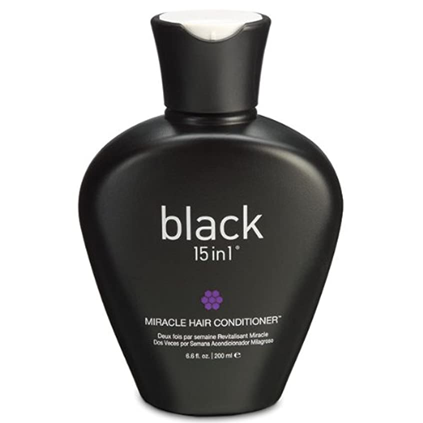 ピーブタービンレンダリングBlack 15in1 Miracle Hair Conditioner, 6.6 Ounce by black 15in1