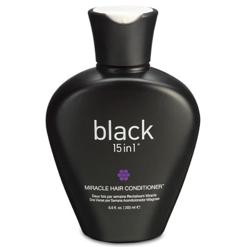 ヒント翻訳する奴隷Black 15in1 Miracle Hair Conditioner, 6.6 Ounce by black 15in1