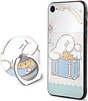 かわいい シナモロール Cinnamoroll iPhone8 ケース iPhone7ケース リング付き かわいい おしゃれ iPhoneカバー スマホケース