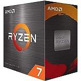 (OEM CPU) AMD Ryzen 7 5800X 8-core Desktop Processor Without Cooler, 16-Threads Unlocked, 3.8 GHz Up to 4.7 GHz, Socket AM4,