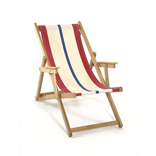 LONA:折りたたみ 木製 ビーチチェア