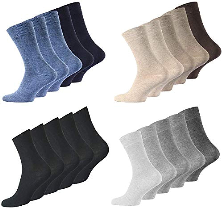 ビジネスソックス 吸汗 除菌消臭 通気性抜群 ワンサイズ リブ靴下 26-28㎝ 10足組 黒