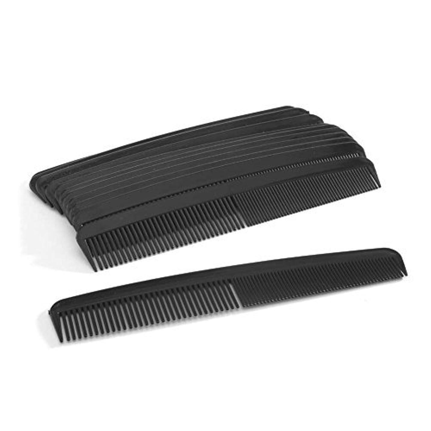 色合い割合クリップ蝶Perfect Stix 6.5'' Black Comb-8ct [並行輸入品]