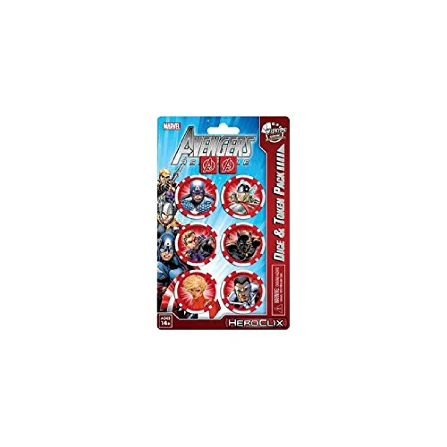 Marvel HeroClix: Avengers Assemble Dice and Token Pack - Captain America