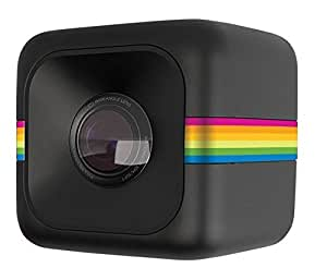 Polaroid  Cube Plus (Wi-Fi で簡単スマホ連携! ワイヤレスアクションカメラ) ブラック【日本正規代理店品】 POLCPBK