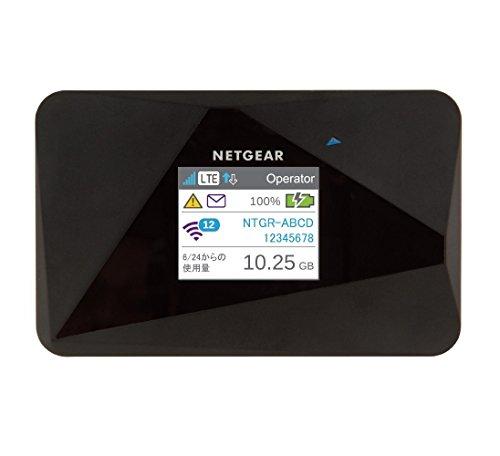 【Amazon.co.jp限定】 NETGEAR AirCard AC785 (SIMフリー LTE モバイルルータ グローバル対応) 交換用予備バッテリー付き AC785-100JPS/SET