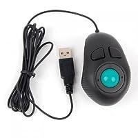マウス Handheld Wired Trackball Mice Mouse 指 ハンド ヘルド 4D USBミニ トラックボール