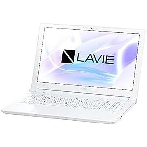 NEC 15.6型 ノートパソコン LAVIE Note Standard NS600/HAWエクストラホワイト(Office Home&Business Premium プラス Office 365) PC-NS600HAW