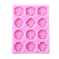 PINKING シリコンモールド アロマストーン 手作り 石鹸 キャンドル 樹脂 粘土 抜き型 穴あき 通し穴