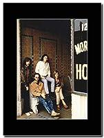 - The Doors - Morrison Hotel - つや消しマウントマガジンプロモーションアートワーク、ブラックマウント Matted Mounted Magazine Promotional Artwork on a Black Mount