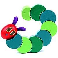 stebceceキュートツイストCaterpillar DIY木製玩具キッズ赤ちゃんクリエイティブ教育玩具昆虫