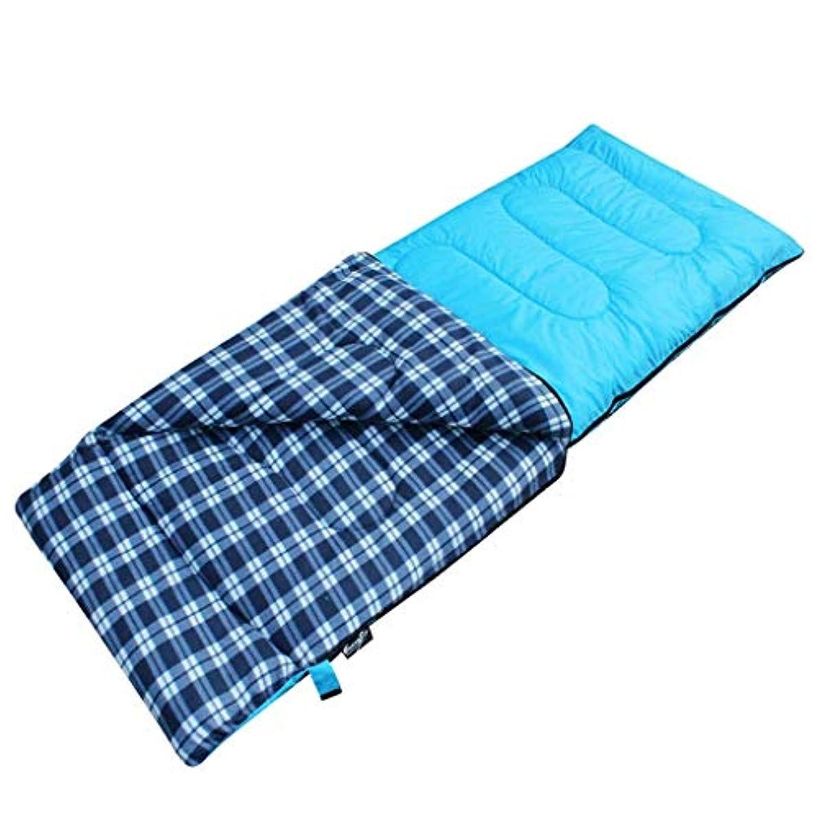 海外挽く囲むスエードの寝袋大人の屋内屋外秋と冬の綿の個体を厚く