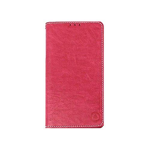 Galaxy S4 / ギャラクシー S4 (SC-04E) 対応 ケース Luvn Suction Plate PP Flip ルブン サクション プレート PP フリップ ケース スマホ カバー Hot Pink / ホットピンク