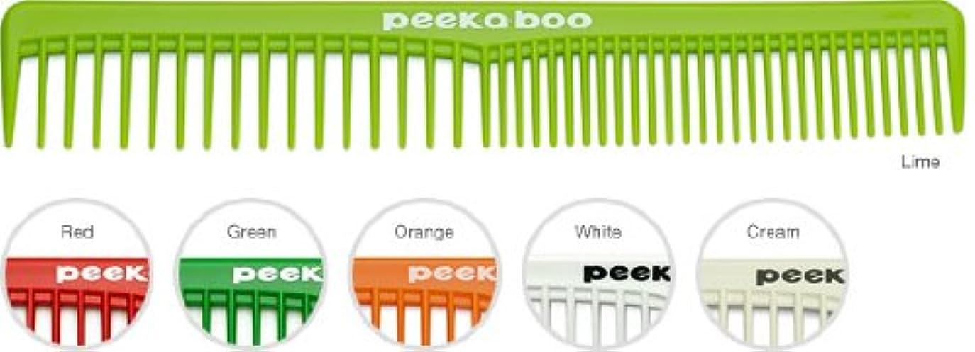 予測する望ましい力学PEEK-A-BOOカットコーム02 ホワイト