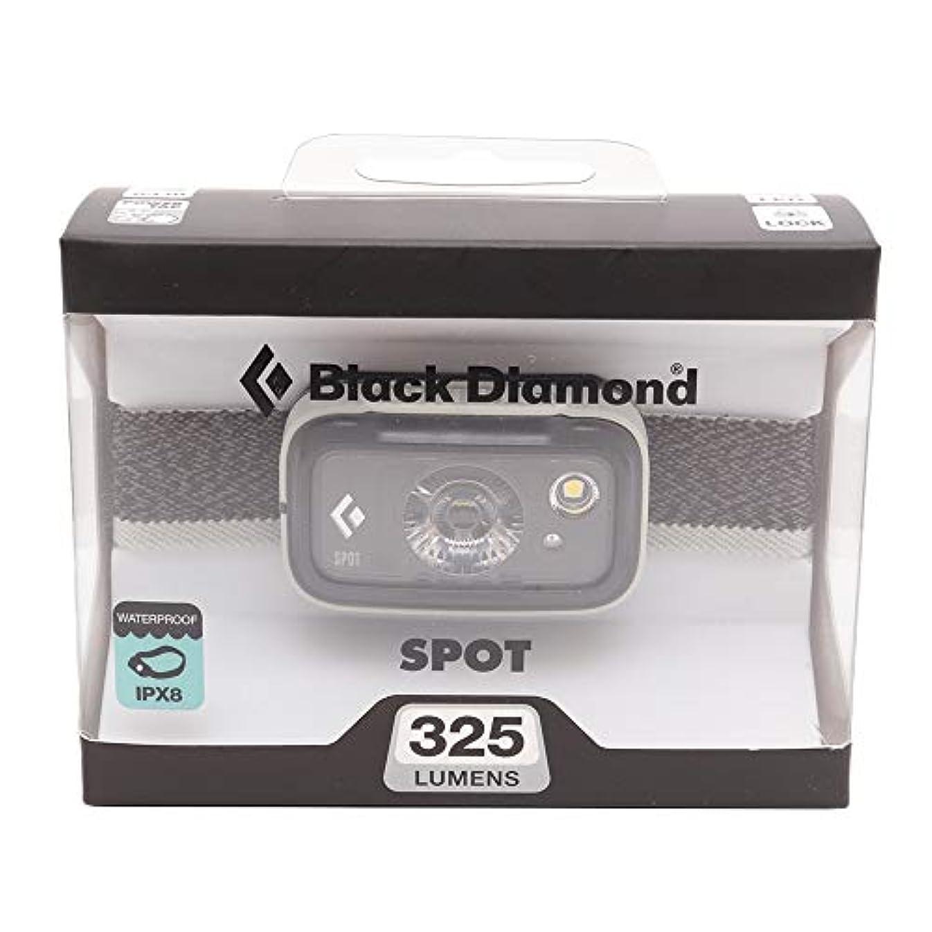 信仰スリルベスビオ山Black Diamond (ブラックダイヤモンド)スポットヘッドランプ 325ルーメン 2019年モデル BD81054 アルミニウム(シルバー系) [並行輸入品]