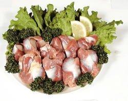 自然食品のたいよう 日岡 ありたどり 砂肝 300g 佐賀県産 冷凍 3個セット