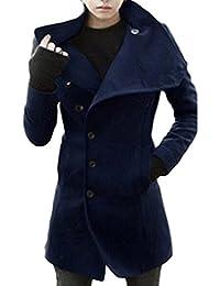 【 Smaids×Smile 】 メンズ コート ハーフ 丈 タートルネック ボタン モード系 スタイリッシュ 冬