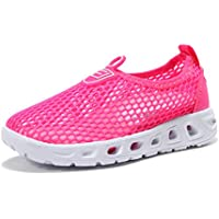 Kids Aqua Shoes Boys Girls Breathable Lightweight Sneakers Slip-On Quick Dry Water Shoes (Toddler/Little Kid/Big Kid)