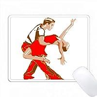 漫画サルサカップルの印刷 PC Mouse Pad パソコン マウスパッド