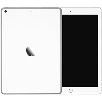 [全31色] wraplus for iPad Pro 9.7インチ [ホワイトカーボン] スキンシール 背面 フィルム ケース