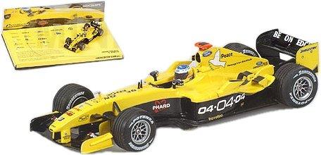 ミニチャンプス 1/43 ジョーダン フォード EJ14 N.ハイドフェルド 2004シーズンライブラリーズ