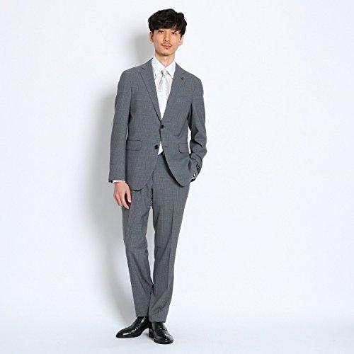 タケオキクチ(TAKEO KIKUCHI) マイクロチェックピアチェンツアスーツ[メンズ スーツ チェック]