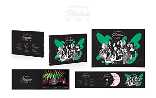 少女時代 - Girls' Generation 4th Tour [PHANTASIA] in SEOUL DVD+Postcard Book+Folded Poster [韓国盤]