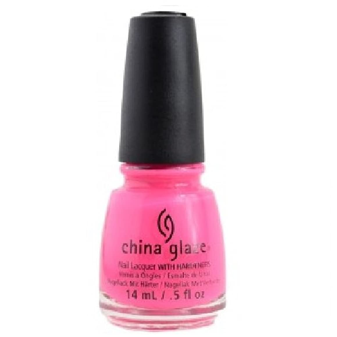 サミット番号バラバラにするCHINA GLAZE Nail Lacquer - Art City Flourish - Peonies & Park Ave
