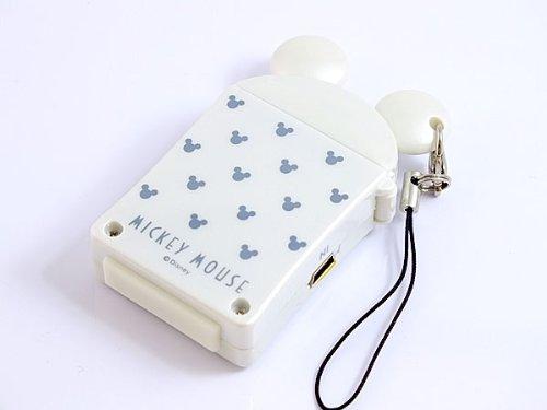 ミッキーマウス MICKEY MOUSE モバイル ソーラー充電器 SM1100132-WH ホワイト