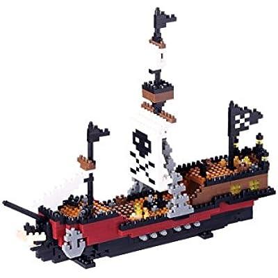 ナノブロック 海賊船 NBM-011