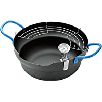 照英 天ぷら鍋(24cm)温度計付 SATP-500