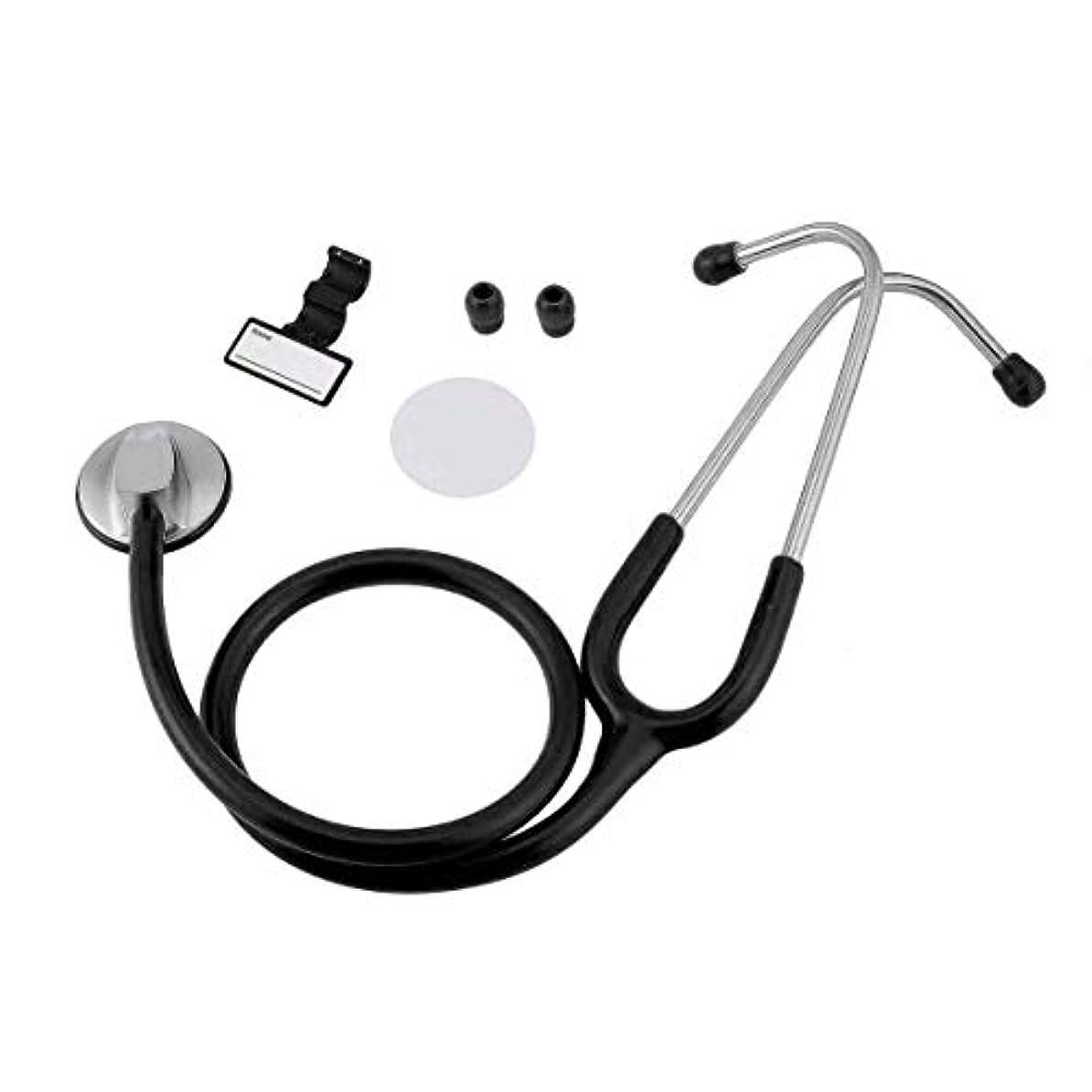処方する欠如ペグintercorey聴診器ポータブルフラットヘッド聴診器医療聴診器用具救助妊娠赤ちゃん聴診器医師医療ヘルスケア