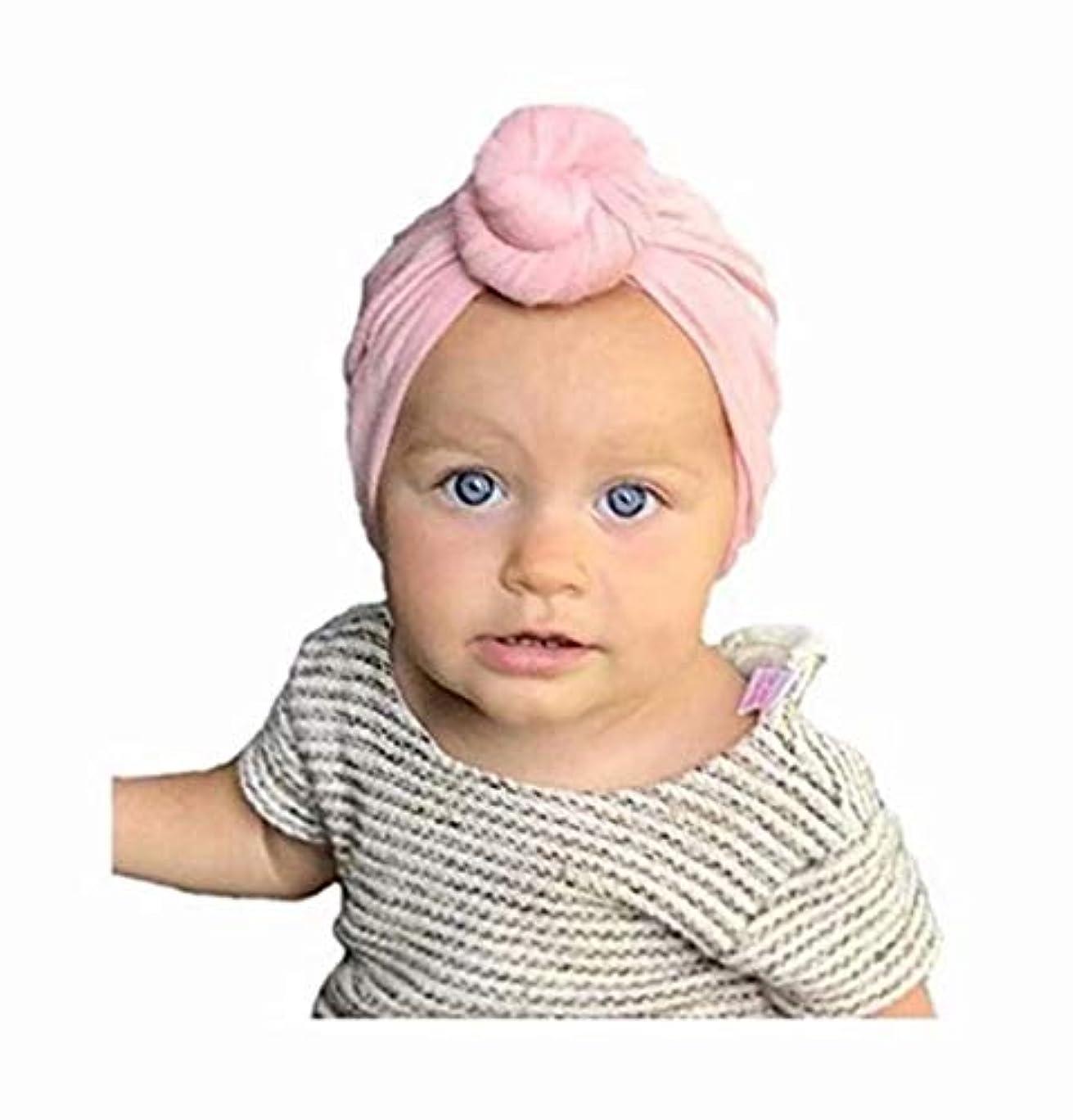 市の花遡る電池七里の香 子供の赤ちゃんの赤ちゃんのヘッドバンド結び目の花のヘアバンドアクセサリーヘッドウェア弾性