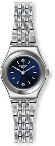 スウォッチ レディース Irony YSS288G Silver Stainless-Steel Swiss Quartz Watch with B...
