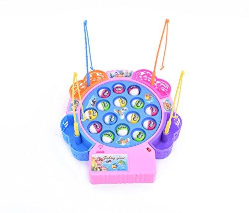 [bbwell]釣りゲーム 電動 くるくる魚釣り おもちゃ フィッシング 遊び さかな 子供 お魚つりゲーム 知育玩具 男の子 女の子 誕生日 クリスマスプレゼント