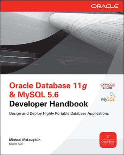 Download Oracle Database 11g & MySQL 5.6 Developer Handbook (Oracle Press) 0071768858