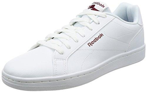 [リーボック] スニーカー REEBOK ROYAL COMPLETE CLN ホワイト/カレッジバーガンディー 27.0(27cm) (現行モデル)