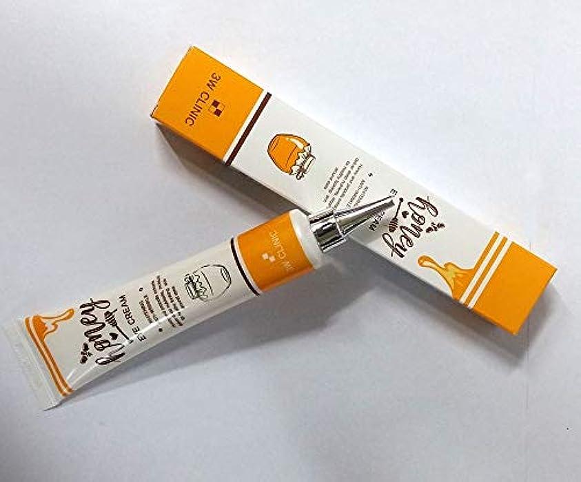差し引くに対して掻く[3W CLINIC] ハニーアイクリーム40ml X 4EA / Honey Eye Cream 40ml X 4EA / 蜂蜜&プロポリスエキス/栄養素、湿った、美白/Honey & propolis extracts...