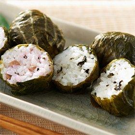 熊野地方の郷土料理 「紀州名品めはり寿司 2種詰合せセット(おかか・しそ昆布 各8個 / 計16個)」