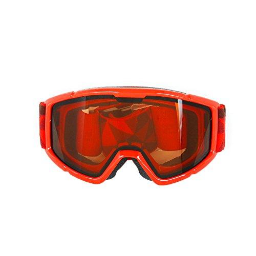 SWANS(スワンズ) ジュニア(キッズ・子供) スキー スノーボード ゴーグル 16-17 モデル : レッド (140DH)